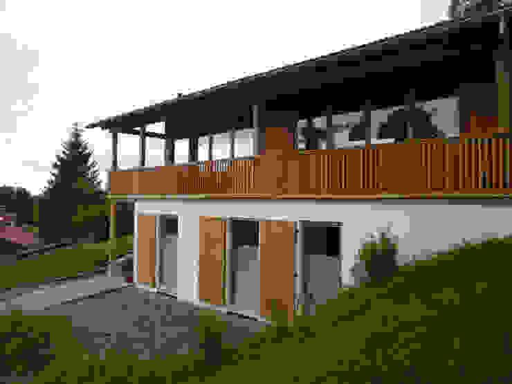 Ansicht Süd - West Landhäuser von peter glöckner architektur Landhaus