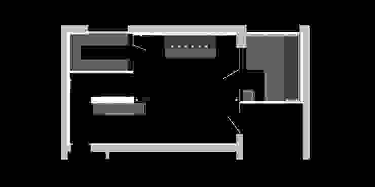 Grundriss Wellnessbereich von peter glöckner architektur