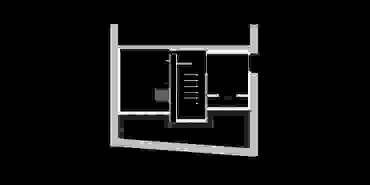 Schnitt durch ehemaliges Schwimmbad von peter glöckner architektur