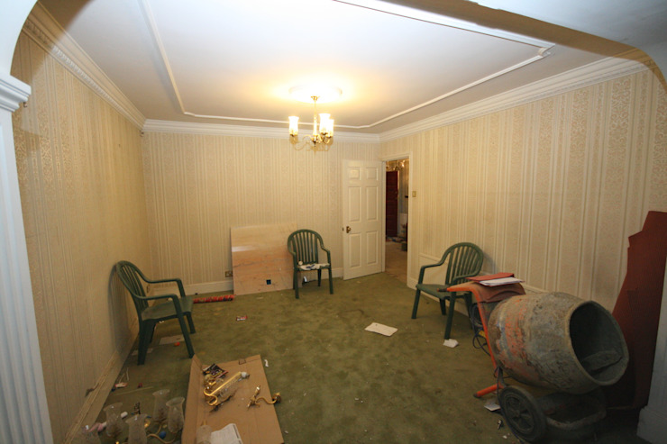Dining room - before by Aura Designworks Ltd