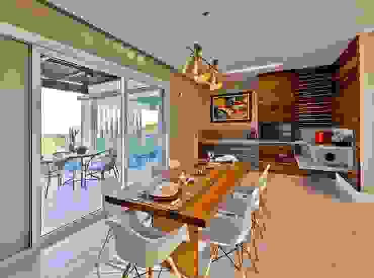 Espaço gourmet Salas de jantar modernas por Espaço do Traço arquitetura Moderno