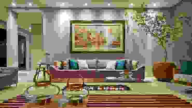 Modern living room by Espaço do Traço arquitetura Modern