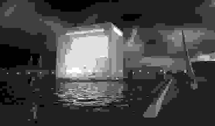 Vue de nuit Musées modernes par Wen Qian ZHU Architecture Moderne