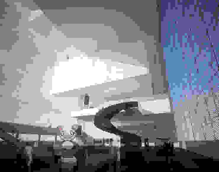 Vue de Hall d'entrée Musées modernes par Wen Qian ZHU Architecture Moderne