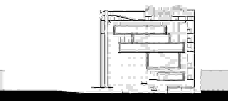 Coupe1 Musées modernes par Wen Qian ZHU Architecture Moderne