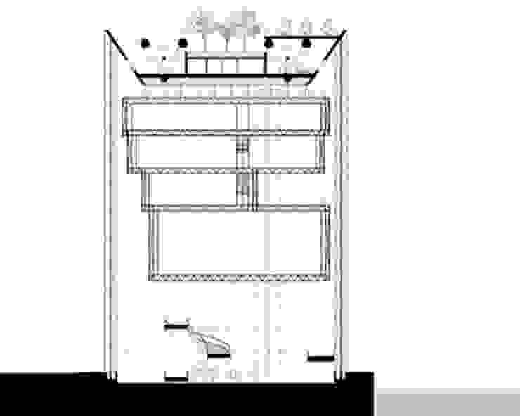 Coupe2 Musées modernes par Wen Qian ZHU Architecture Moderne
