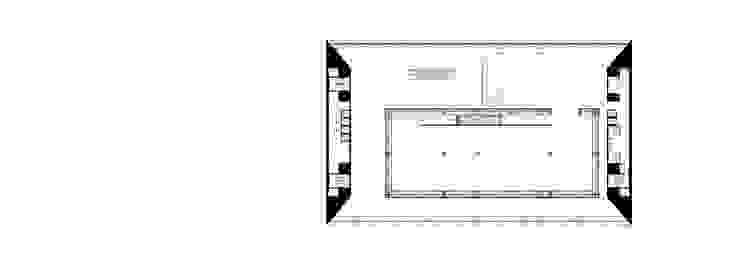 Plan niveau 3 Musées modernes par Wen Qian ZHU Architecture Moderne