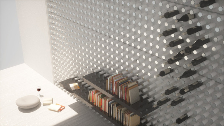 Wen Qian ZHU Architecture:  tarz Duvarlar,