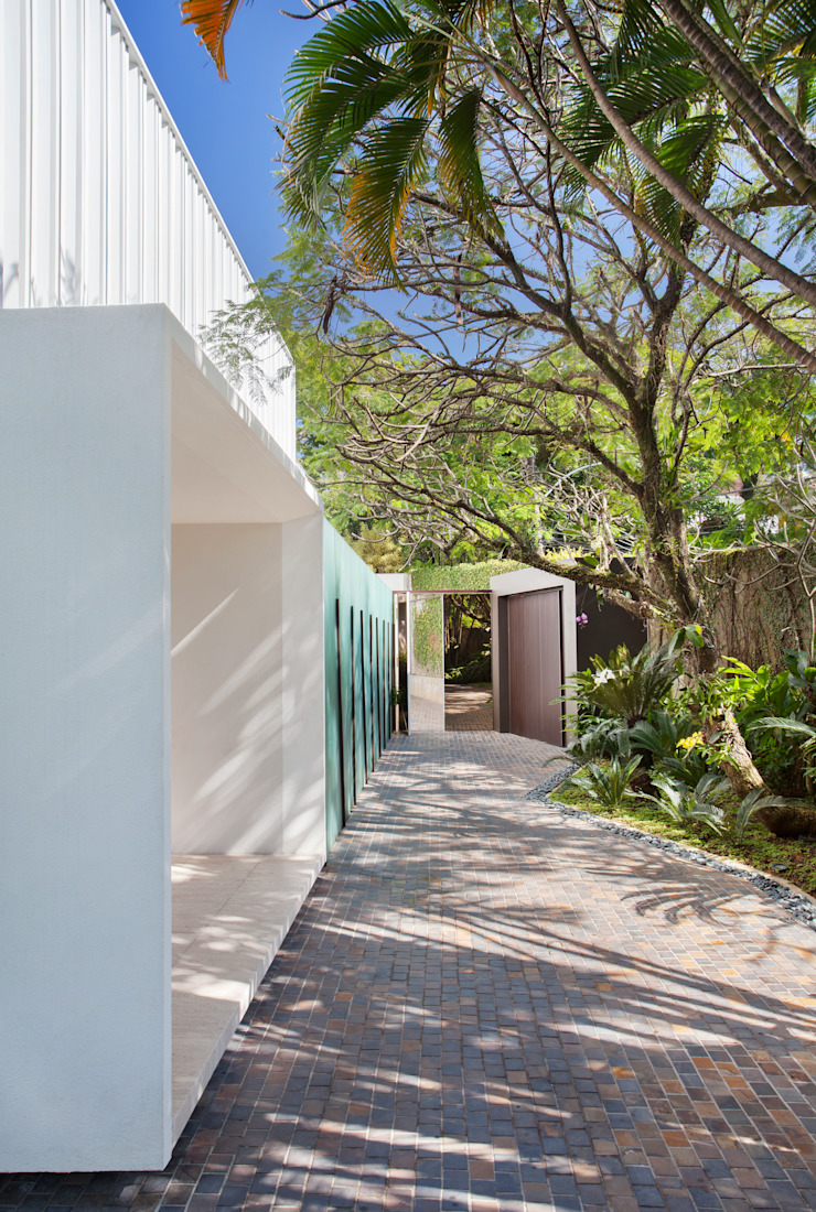 Residência Brise Casas modernas por Gisele Taranto Arquitetura Moderno