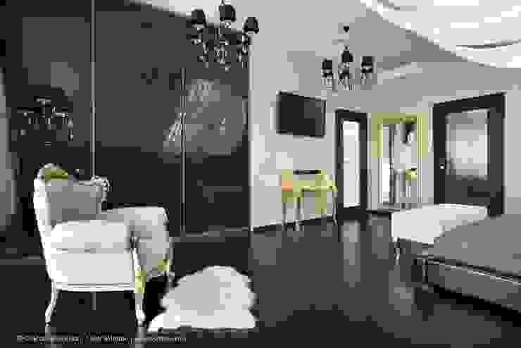 Загородный дом в коттеджном поселке «Красная горка» - 235 м² Спальня в классическом стиле от Ольга Кулекина - New Interior Классический