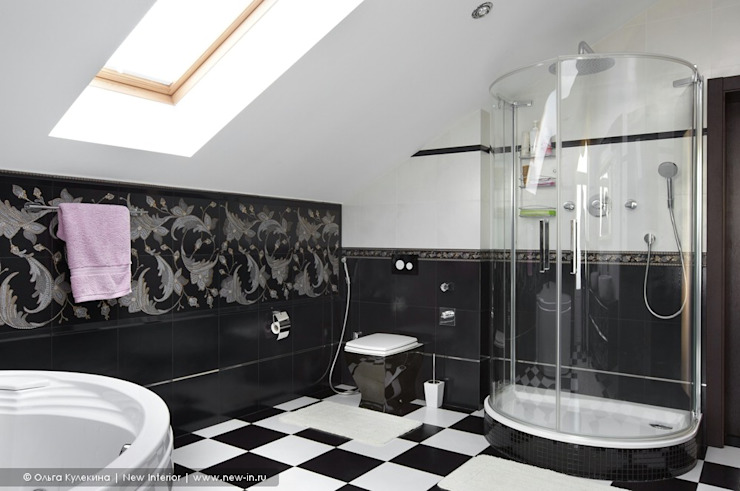 Classic style bathrooms by Ольга Кулекина - New Interior Classic