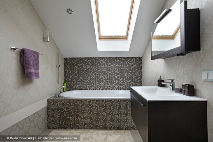 Salle de bains de style  par Ольга Кулекина - New Interior, Classique