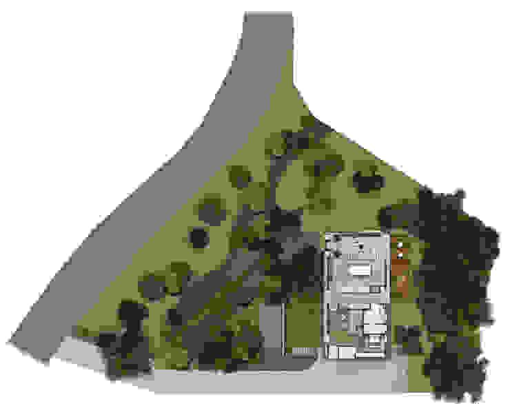 Planta Baixa Térreo Casas modernas por Ideia1 Arquitetura Moderno