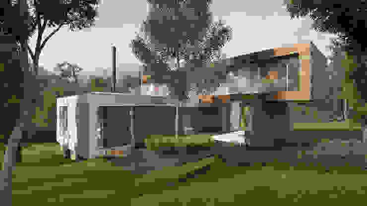 Imagem Externa Casas modernas por Ideia1 Arquitetura Moderno