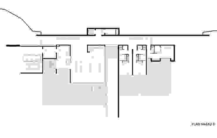 Nhà phong cách mộc mạc bởi Wen Qian ZHU Architecture Mộc mạc