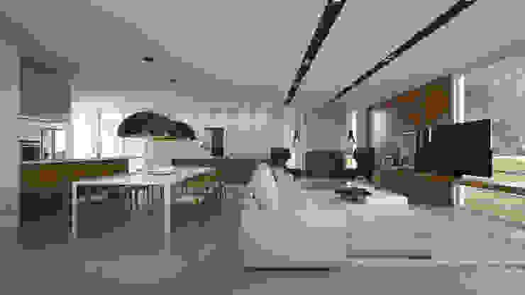 Imagem Interna Casas modernas por Ideia1 Arquitetura Moderno