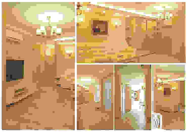 гостиная-холл от Milana Gulam Design
