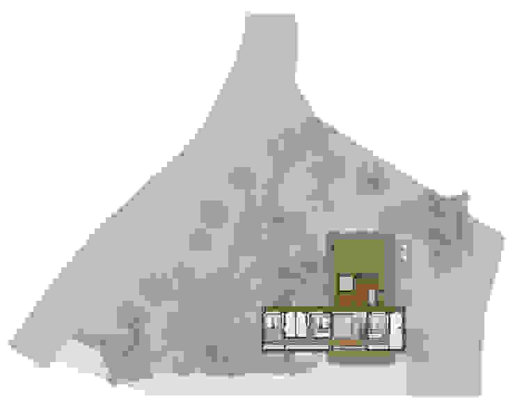 Planta Baixa 2º Pavimento Casas modernas por Ideia1 Arquitetura Moderno
