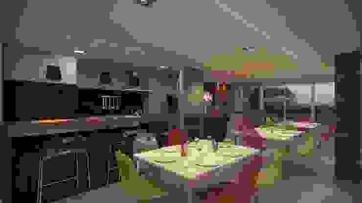 Party Zone Ideia1 Arquitetura Salas de jantar modernas