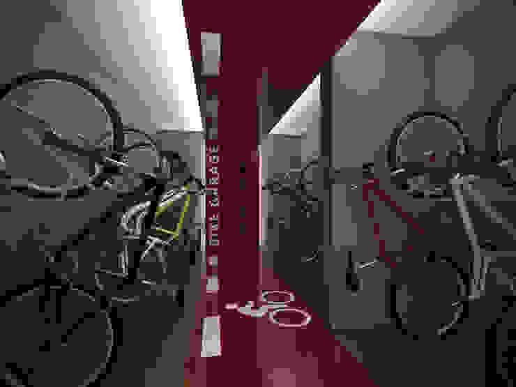 Bike Garage Ideia1 Arquitetura Garagens e edículas modernas