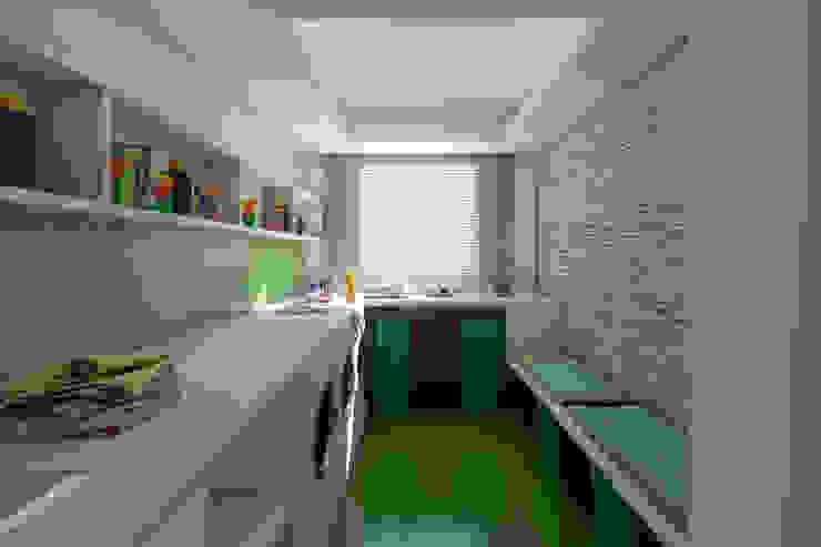 مطبخ تنفيذ Ideia1 Arquitetura,
