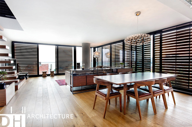 TS EVI Modern Oturma Odası DICLE HOKENEK ARCHITECTURE Modern