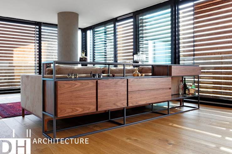 DICLE HOKENEK ARCHITECTURE Dining roomDressers & sideboards