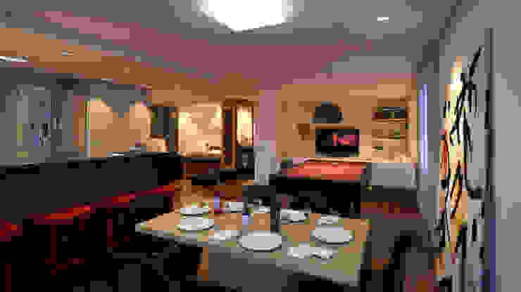 Choice Ideia1 Arquitetura Salas de jantar modernas