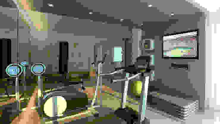 Modern gym by Ideia1 Arquitetura Modern