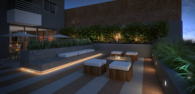 Winter Lounge Ideia1 Arquitetura Jardins modernos