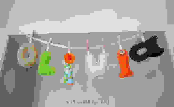 Letras decorativas de Mundo Raquel Escandinavo