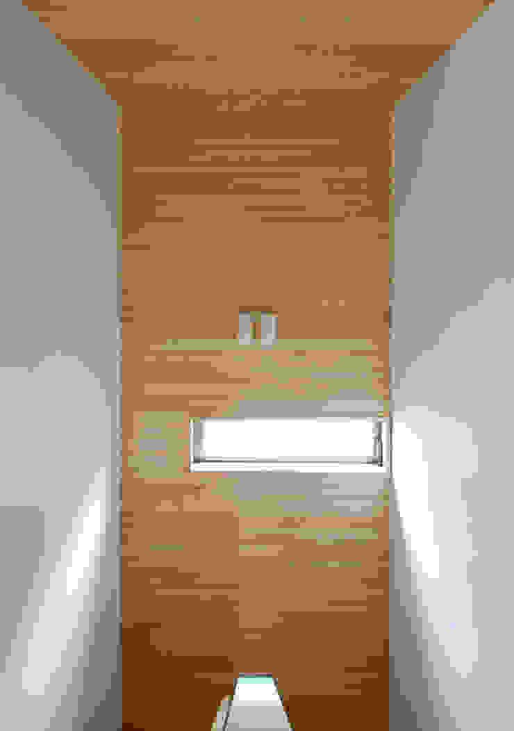 Home Base モダンスタイルの 玄関&廊下&階段 の スペースキューブ一級建築士事務所/Space Cube モダン