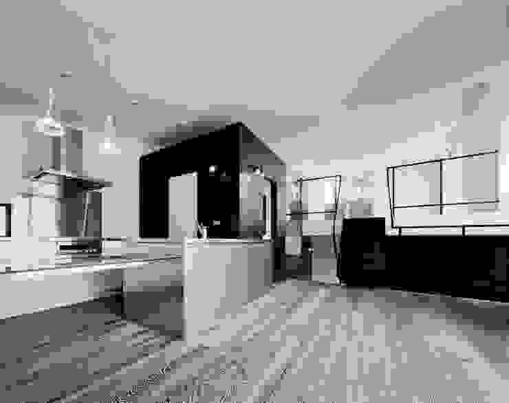 balena オリジナルデザインの キッチン の 筒井紀博空間工房/KIHAKU tsutsui TOPOS studio オリジナル