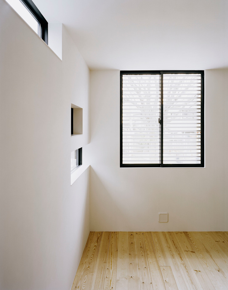 balena オリジナルスタイルの 寝室 の 筒井紀博空間工房/KIHAKU tsutsui TOPOS studio オリジナル