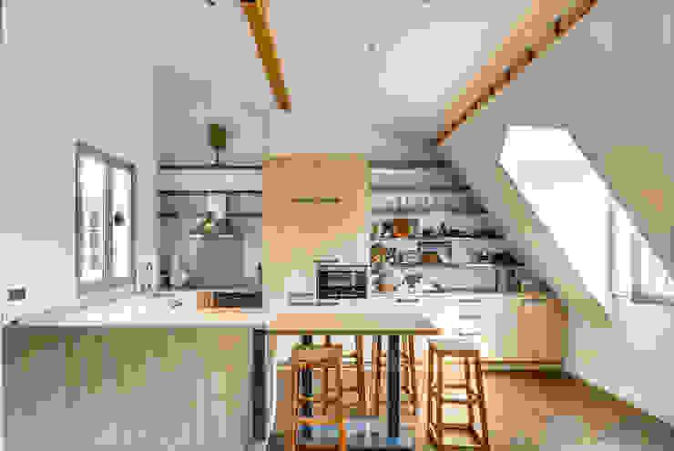 Paris 7 Cuisine industrielle par AGV Architecte Industriel