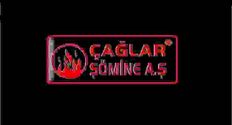 ÇAĞLAR ŞÖMİNE A.Ş – Logo: modern tarz , Modern