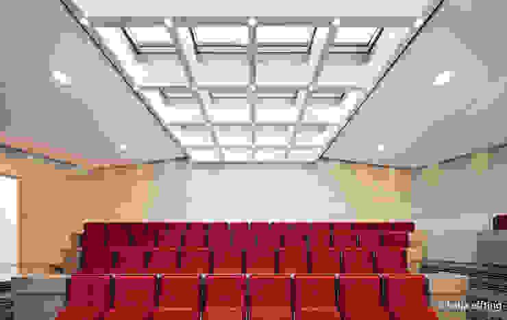 ITC Annex - lecture hall Moderne mediakamers van Mirck Architecture Modern