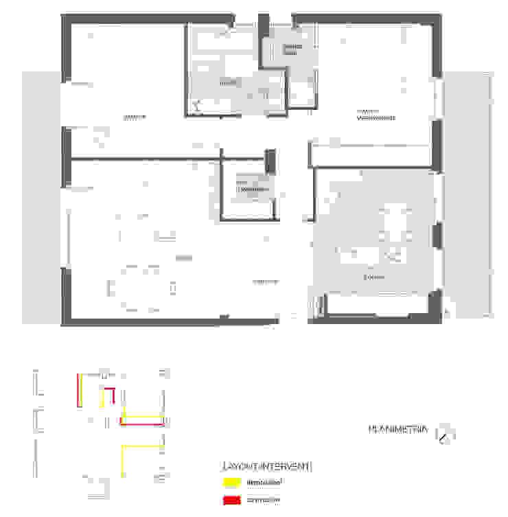 Ristrutturazione abitazione AR a Pescara di Studio Sabatino Architetto