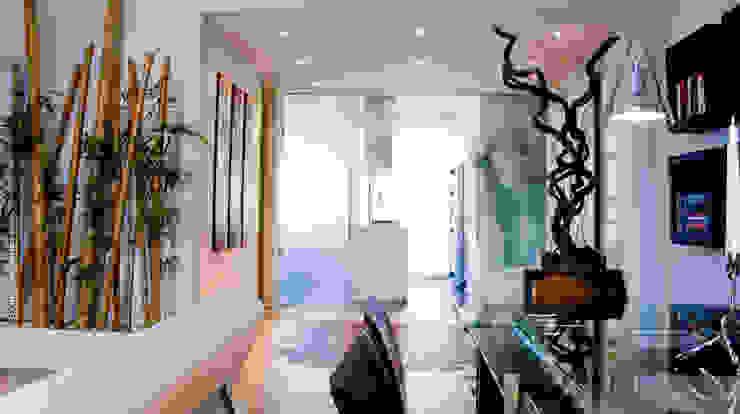 Ristrutturazione abitazione AR a Pescara Soggiorno minimalista di Studio Sabatino Architetto Minimalista