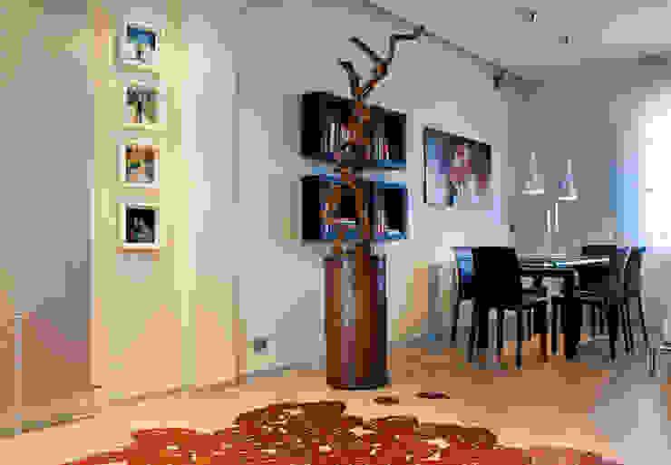 Ristrutturazione abitazione AR a Pescara Soggiorno moderno di Studio Sabatino Architetto Moderno