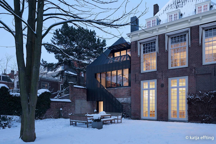 ITC Annex - back house Moderne huizen van Mirck Architecture Modern