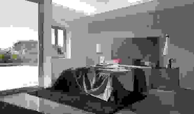 Dormitorio puzzle Evolución Dormitorios de estilo moderno de CASANOVA GANDIA Moderno