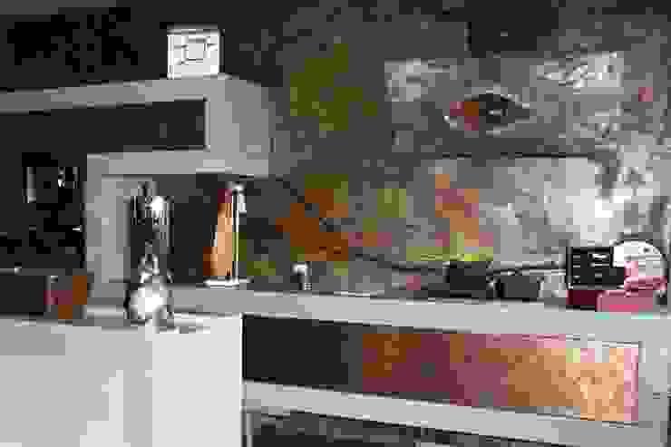 モダンな商業空間 の spazio kitchen モダン