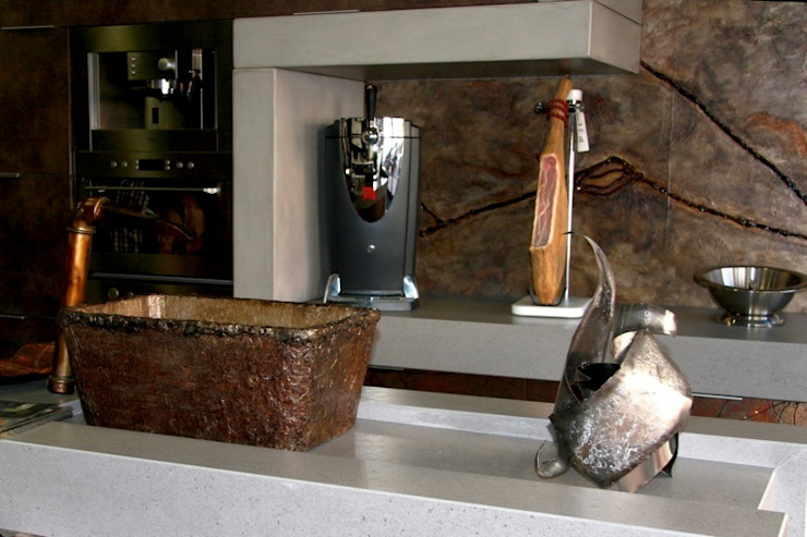 COCINA ANTIQUE Espacios comerciales de estilo moderno de spazio kitchen Moderno