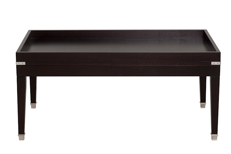 Campaign Rectangular Coffee Table: colonial  by Justin Van Breda, Colonial