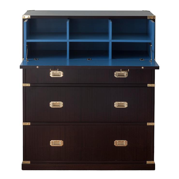 Campaign Chest on Desk: colonial  by Justin Van Breda, Colonial
