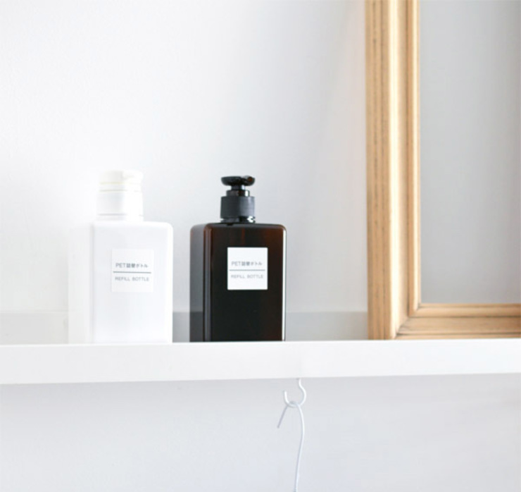 Minimalist dressing room by Kristina Steinmetz Design Minimalist