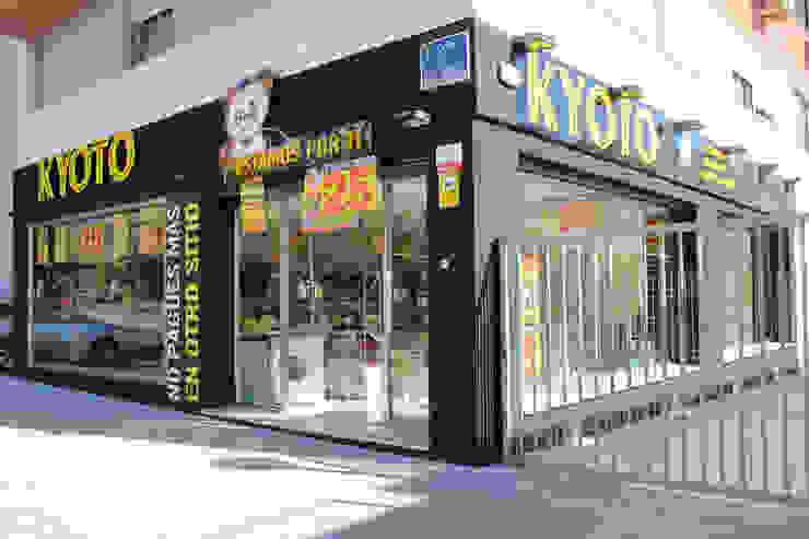 Tiendas Kyoto Espacios comerciales de estilo asiático de Panatta Diseño Comercial Asiático