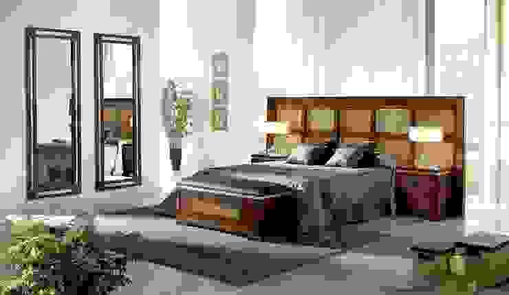 Dormitorio Karey Dormitorios de estilo rústico de CASANOVA GANDIA Rústico