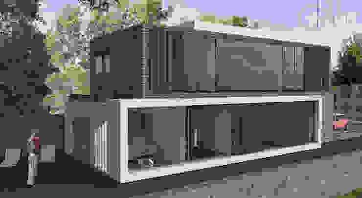 Casa com vista privilegiada – Casa LL Casas modernas por start.arch architettura Moderno